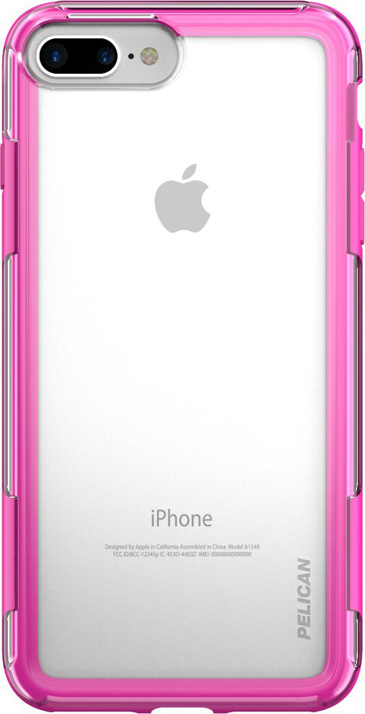 pelican iphone 6 6s 7 8 plus case pink phone