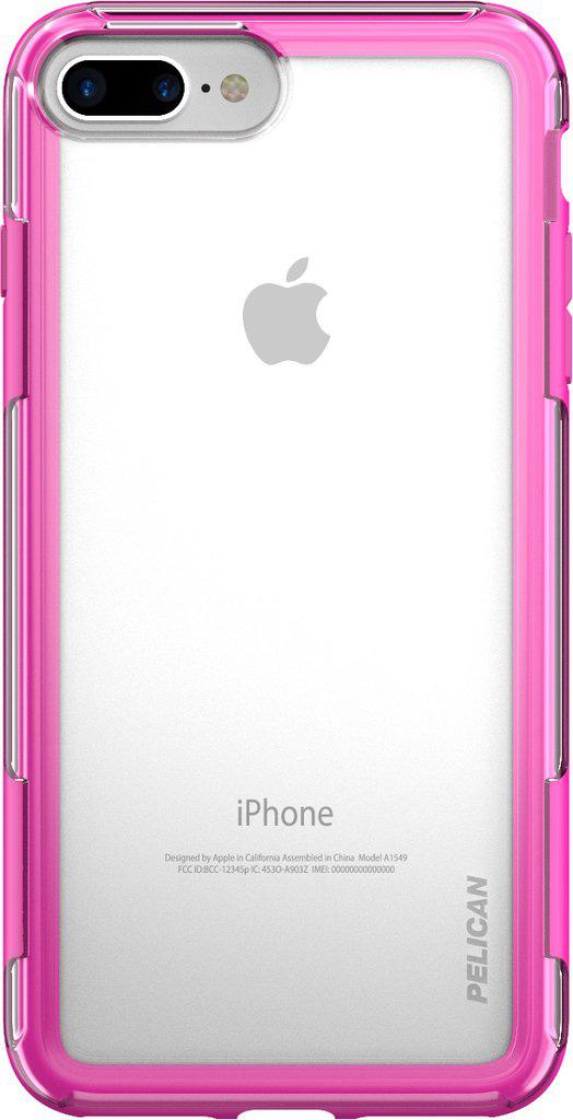 pelican iphone 6 6 7 8 plus case pink phone