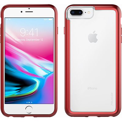 pelican c36100 iphone 8 plus cases red phone case
