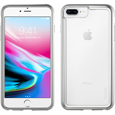 pelican c36100 iphone 8 plus phone case clear