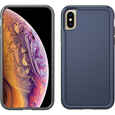 pelican c37100 apple iphone xs navy blue adventurer case