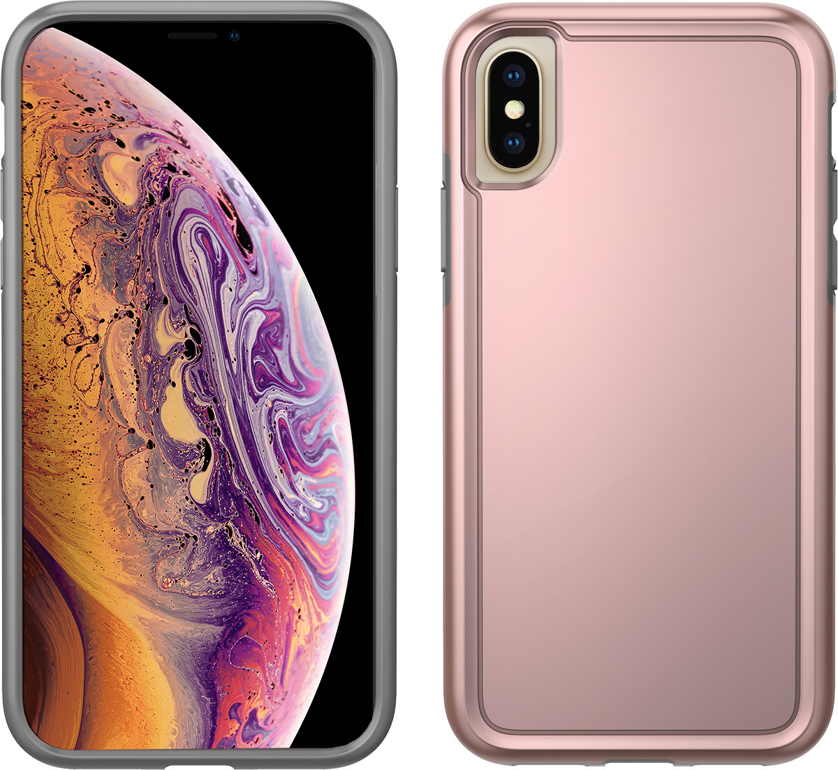 pelican c37100 apple iphone xs rose gold adventurer case