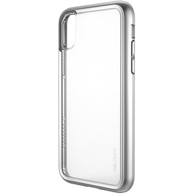 pelican c37100 iphone metallic silver case