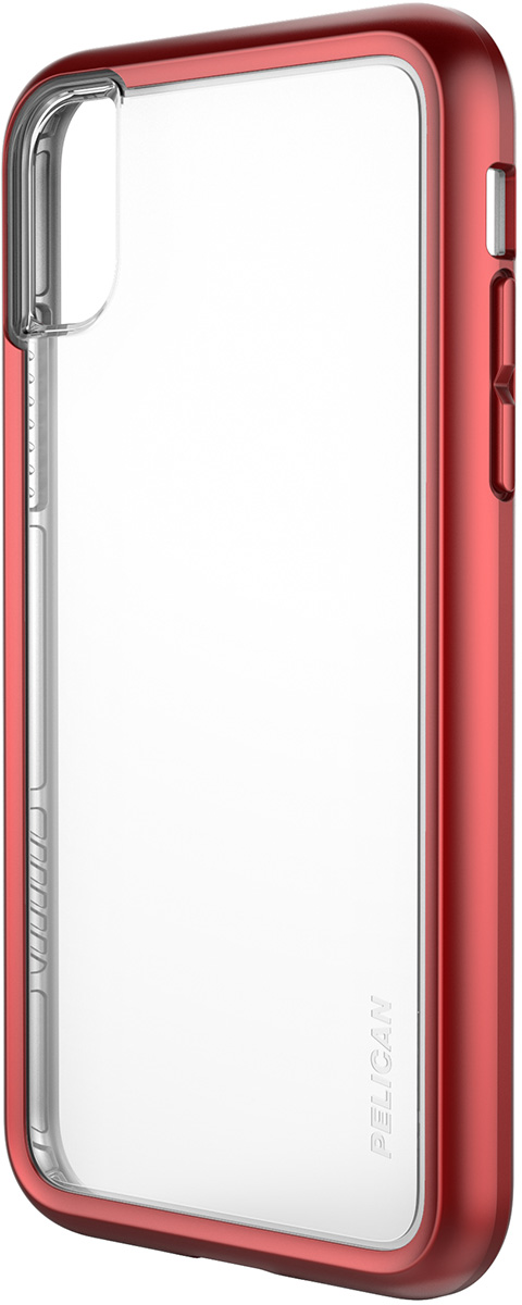 pelican c37100 iphone metallic red protection