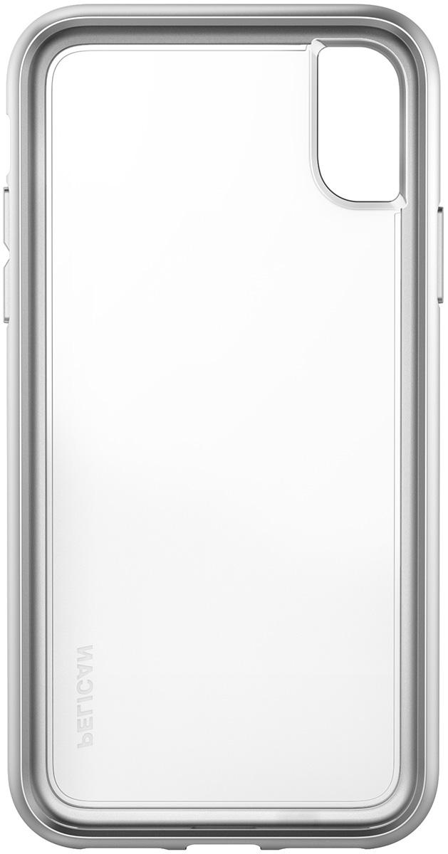 pelican c37100 iphone protection metallic silver case