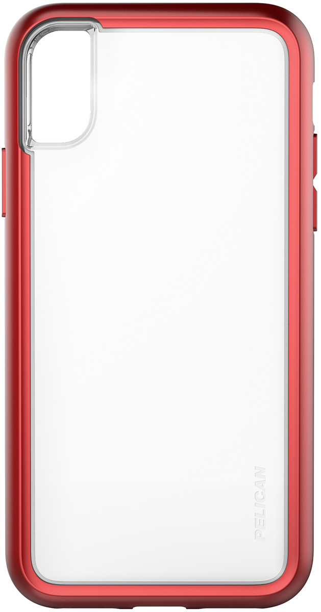 pelican c37100 iphone red rugged slim case