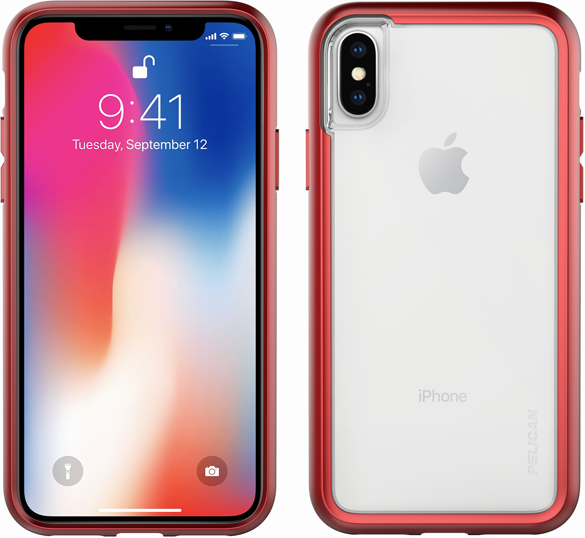 pelican c37100 red phone case iphone x cases