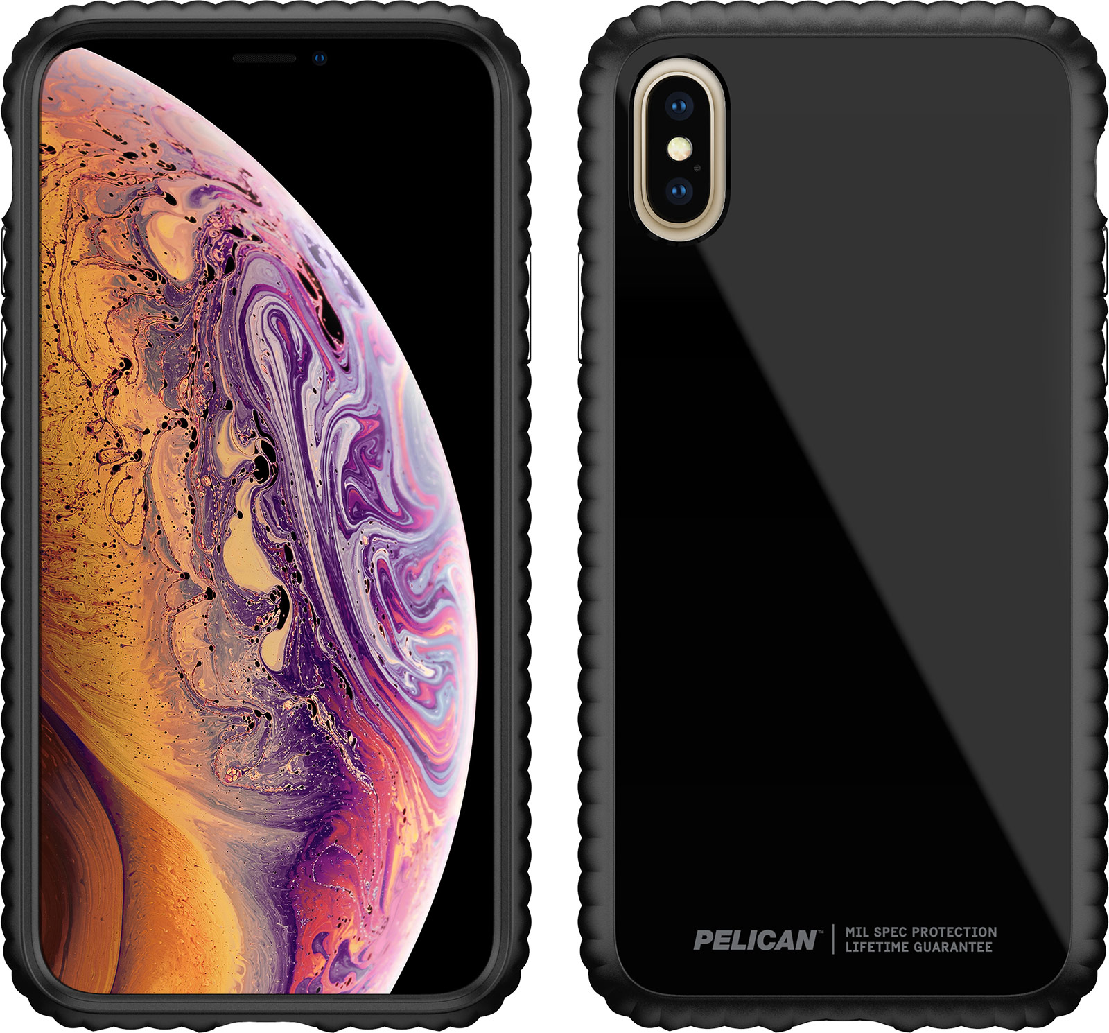 pelican c37160 apple iphone guardian clear phone case