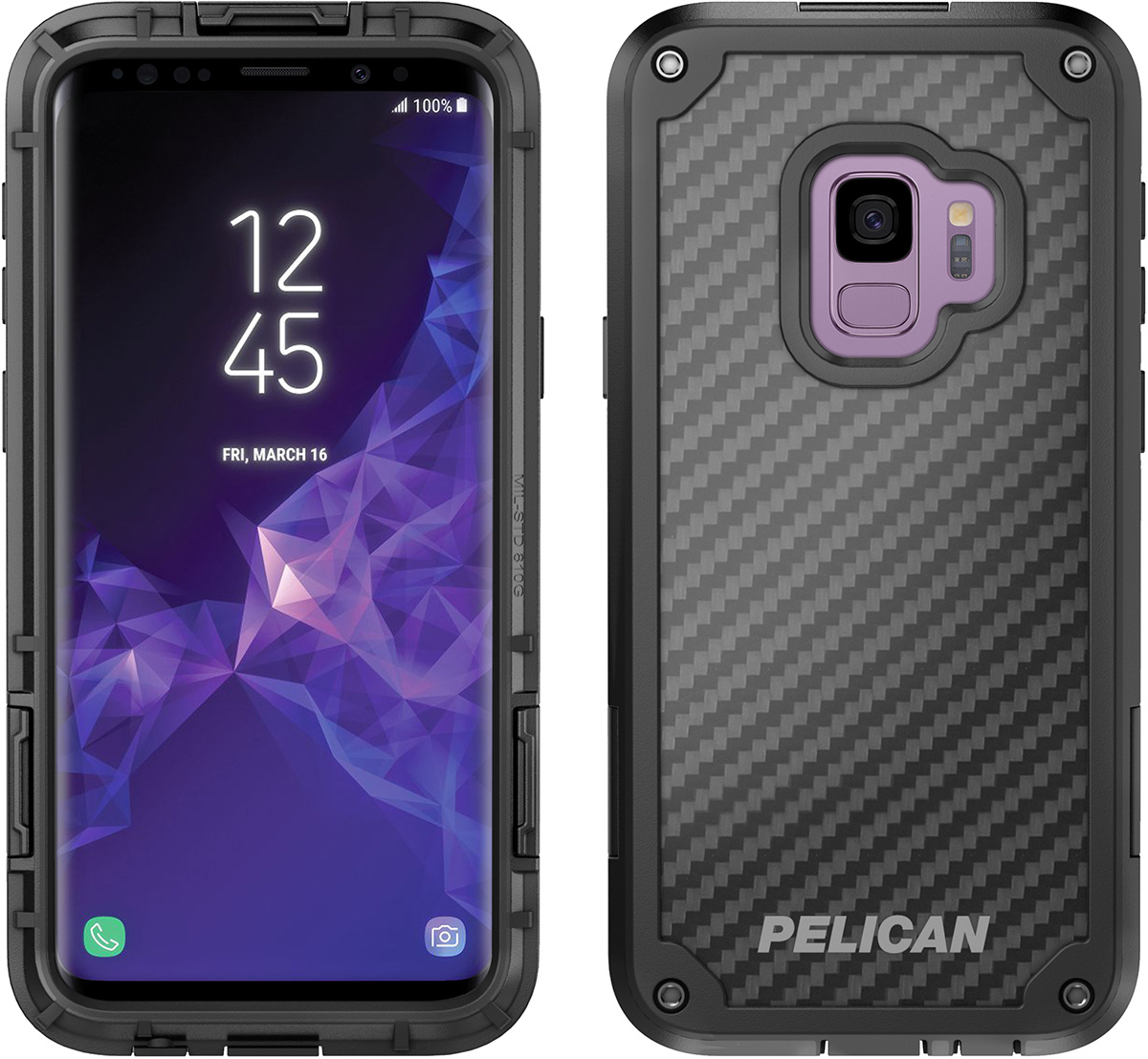 pelican c38140 galaxy s9 cases shield phone cases
