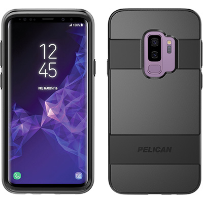 pelican c39030 samsung galaxy s9 plus case black