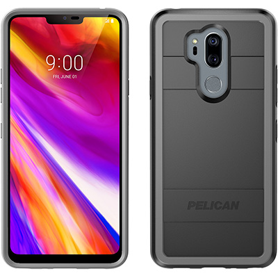 pelican c40000 lg g7 thinq sleek black phone case