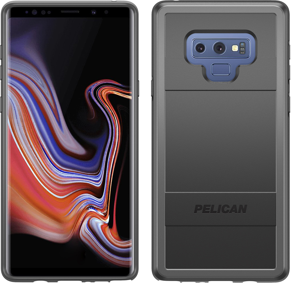 pelican c41000 samsung note9 protector phone case