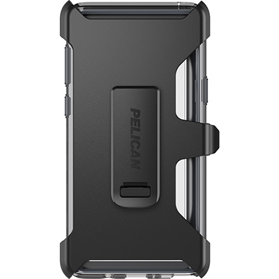 pelican c41030 samsung note9 clear phone case holster
