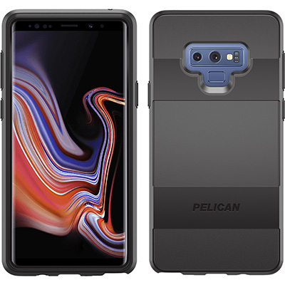 pelican c41030 samsung note9 sleek black phone case