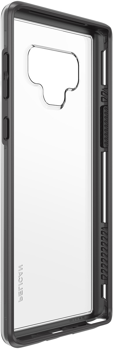 pelican c41100 samsung note9 clear black adventurer non slip case