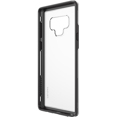 pelican c41100 samsung note9 clear black dual layer phone case