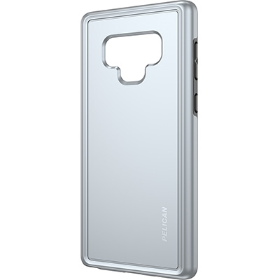 pelican c41100 samsung note9 silver mobile phone case