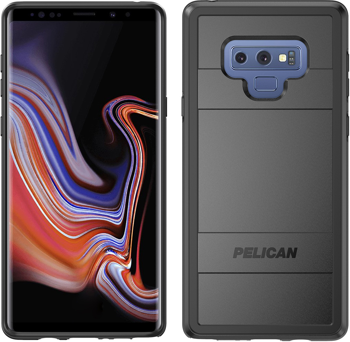 pelican c41150 samsung note9 black protector phone case