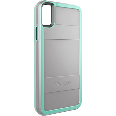 pelican c42000 apple iphone protector grey aqua rugged phone case