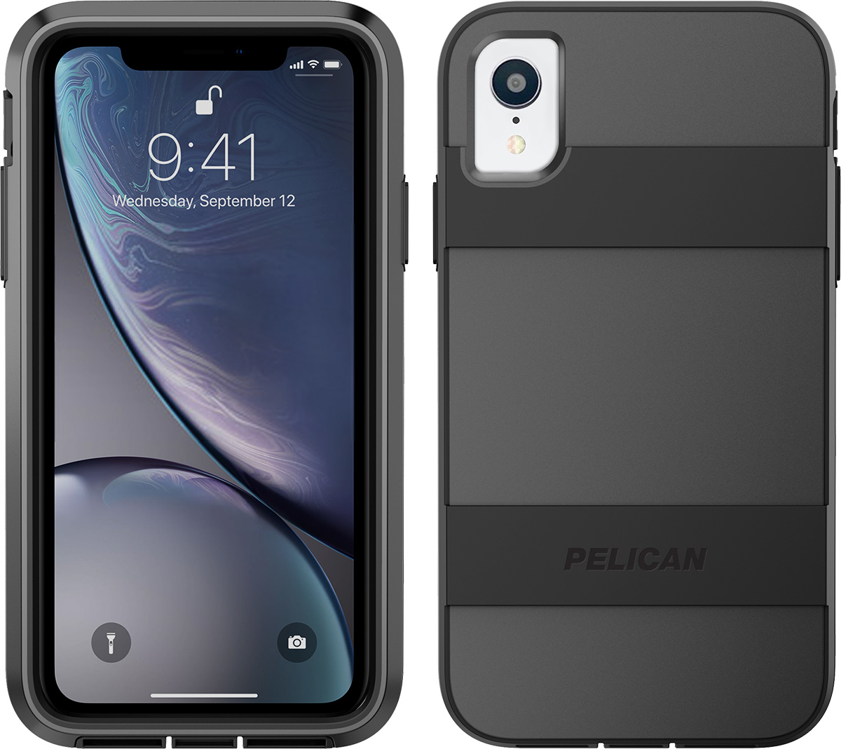pelican c42030 apple iphone voyager black phone case