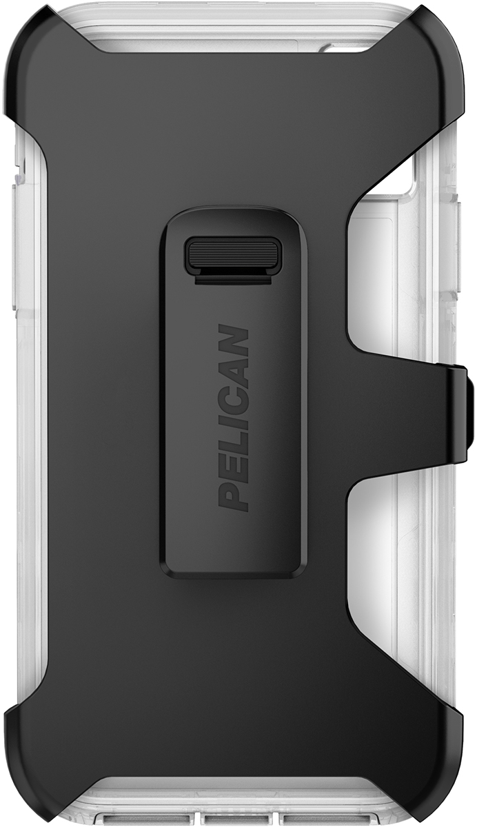 pelican c42030 apple iphone voyager clear phone case holster
