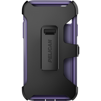 pelican c42030 apple iphone voyager purple phone case holster