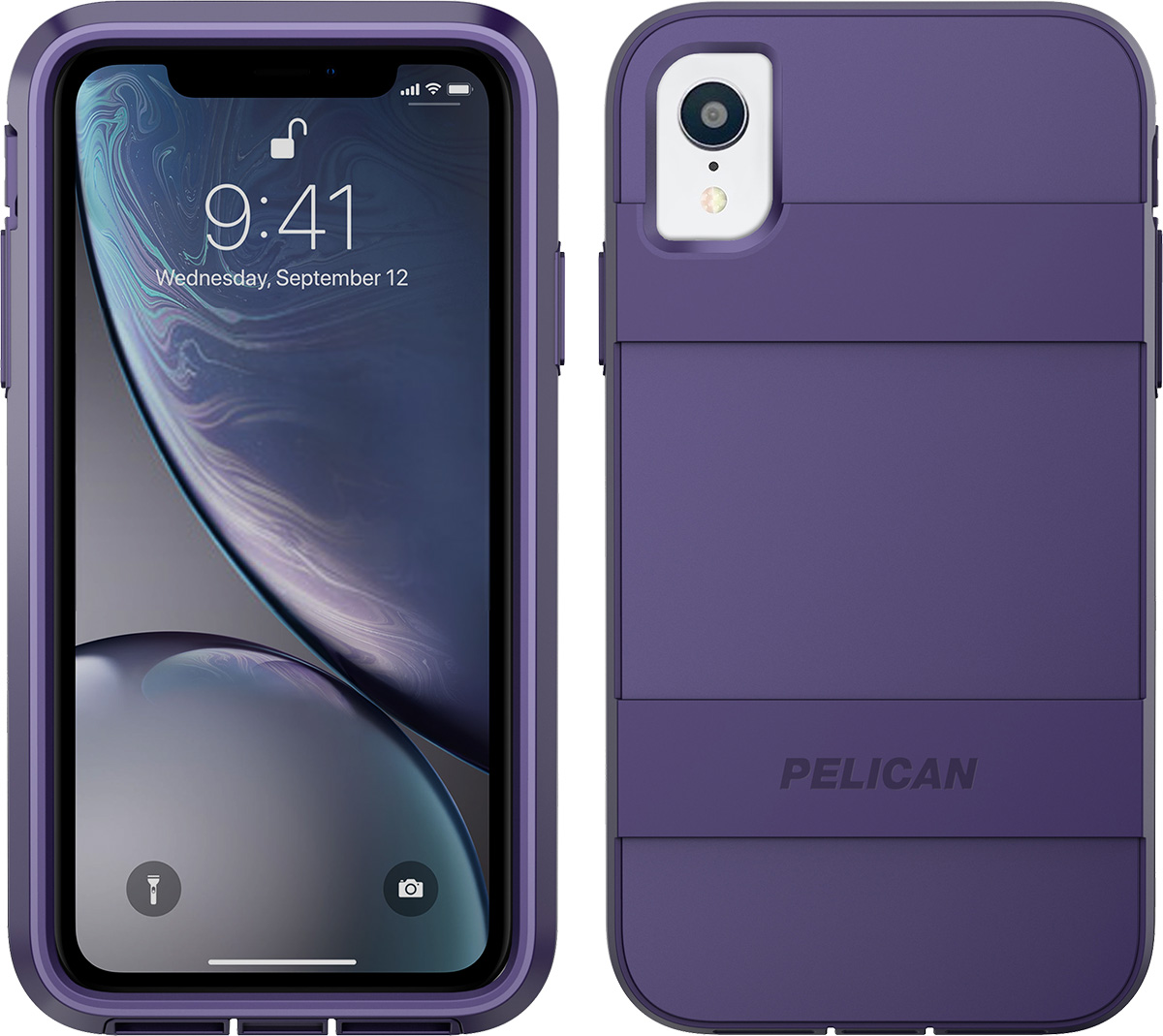 pelican c42030 apple iphone voyager purple phone case