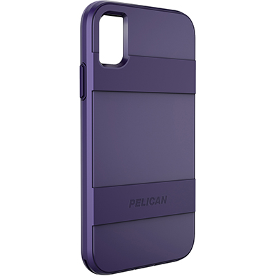 pelican c42030 apple iphone voyager purple slim phone case