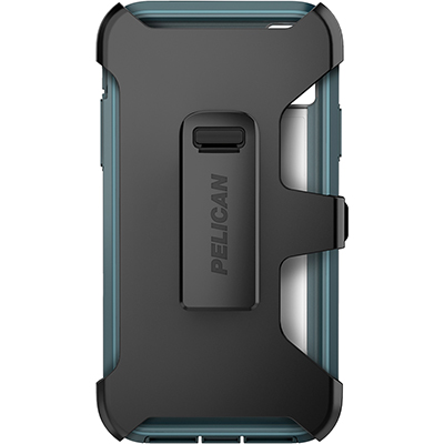 pelican c42030 apple iphone voyager teal phone case holster