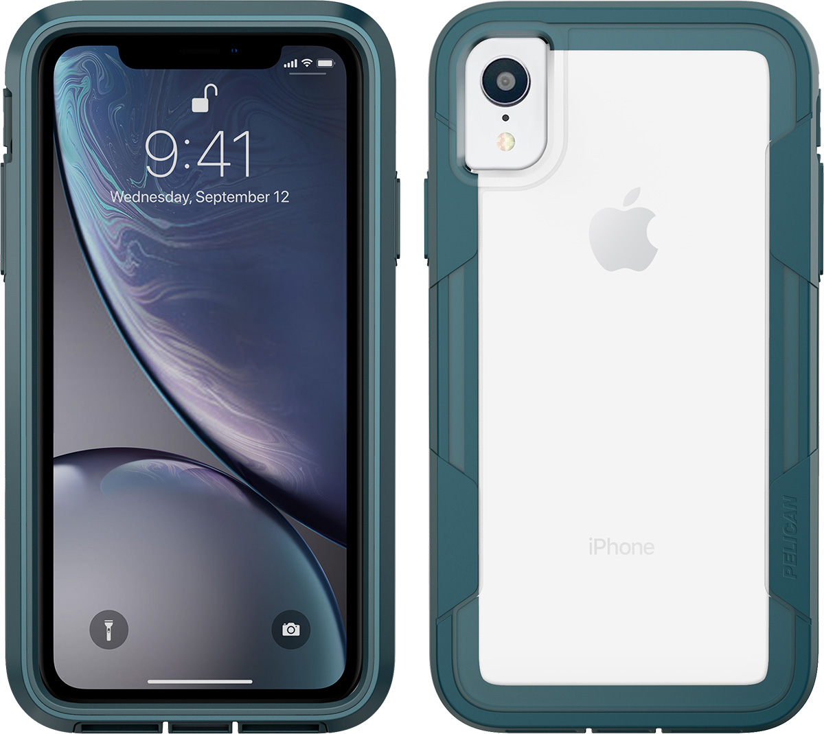 pelican c42030 apple iphone voyager teal phone case