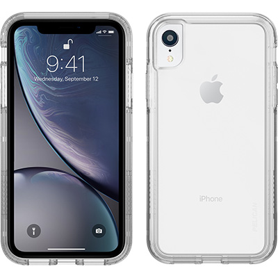 pelican c42100 apple iphone clear hard phone case