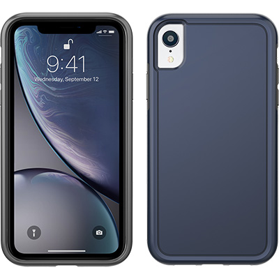 pelican apple iphone c42100 navy non slip phone case