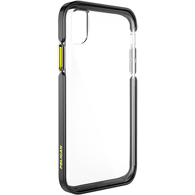 pelican c42130 apple iphone ambassador black gold clear phone case