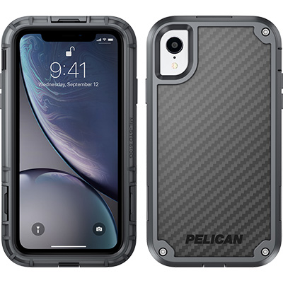 pelican c42140 apple iphone shield grey phone case