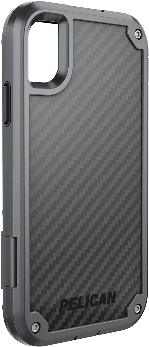 pelican c42140 apple iphone shield grey rugged phone case
