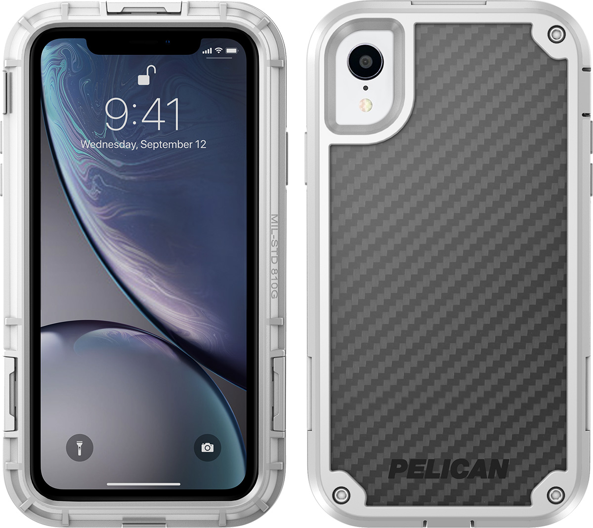 pelican c42140 apple iphone shield white phone case