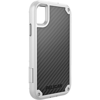 pelican c42140 apple iphone shield white rugged phone case
