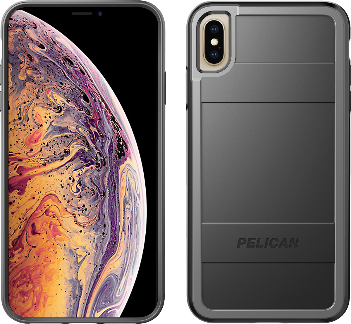 pelican c43000 apple iphone protector black grey phone case