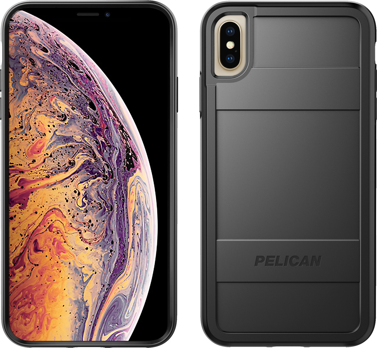 pelican c43000 apple iphone protector black phone case