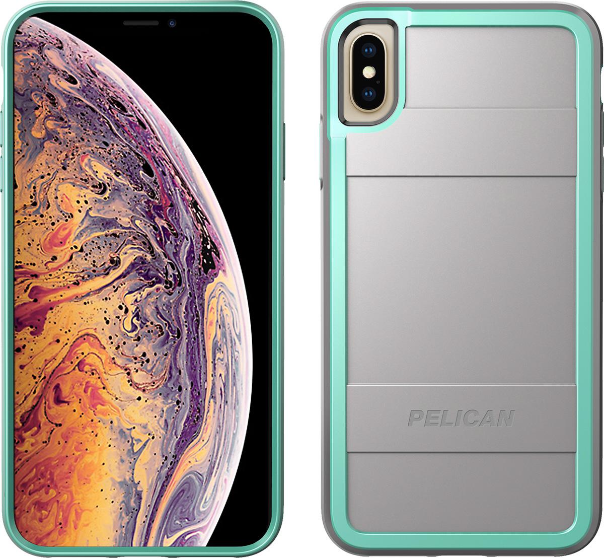 pelican c43000 apple iphone protector grey aqua phone case