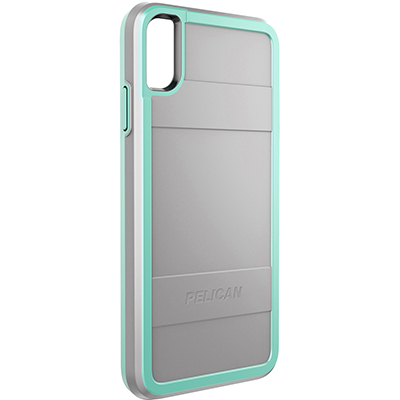 pelican c43000 apple iphone protector grey aqua rugged phone case