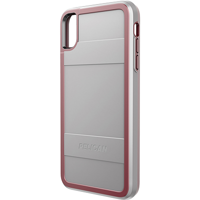 pelican c43000 apple iphone protector grey red mobile phone case