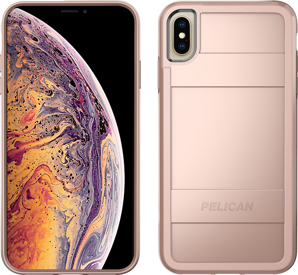 pelican c43000 apple iphone protector rose gold phone case
