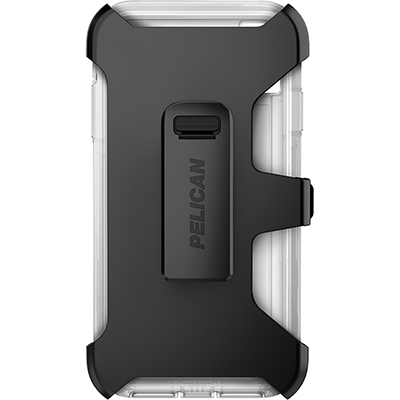 pelican c43030 apple iphone voyager clear phone case holster