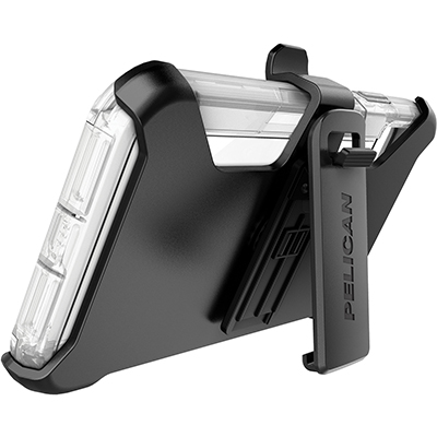 pelican c43030 apple iphone voyager clear phone case kickstand