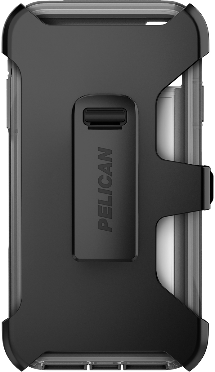 pelican c43030 apple iphone voyager grey phone case holster