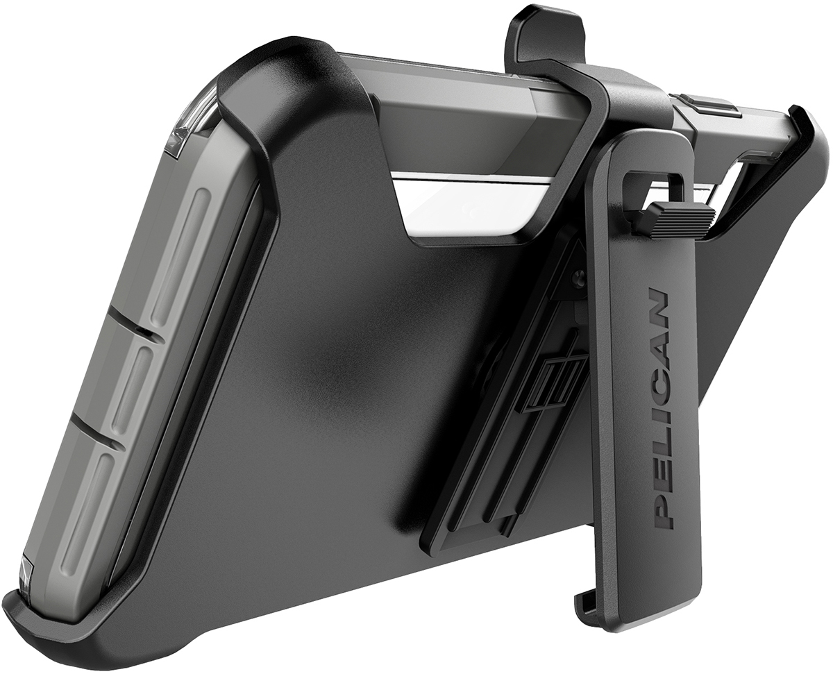 pelican c43030 apple iphone voyager grey phone case kickstand
