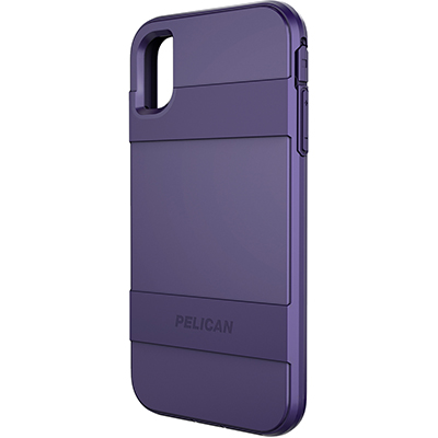 pelican c43030 apple iphone voyager purple mobile phone case