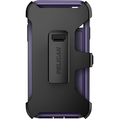 pelican c43030 apple iphone voyager purple phone case holster