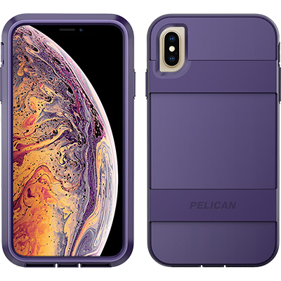 pelican c43030 apple iphone voyager purple phone case